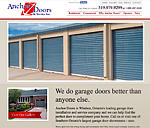 Anchor Doors Website