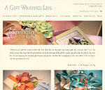 A Gift Wrapped Life Website